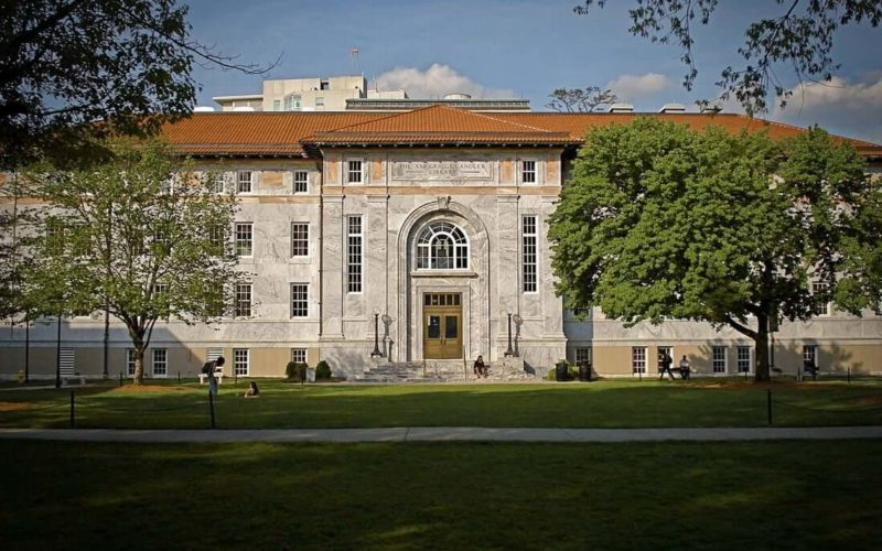 Building on campus of a Georgia medical school