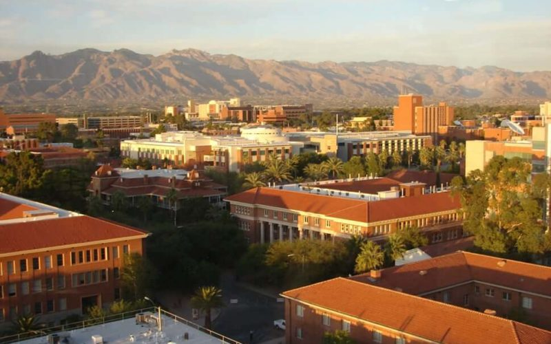 Campus of a medical school in Arizona