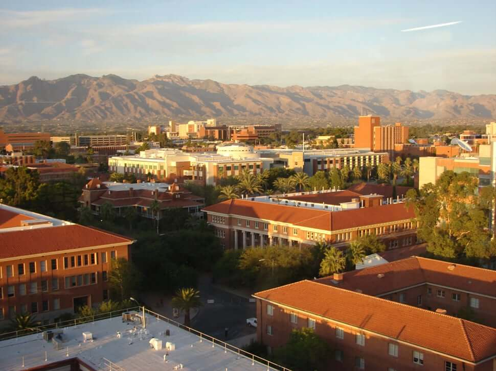 Campus of a medical school in Arizona